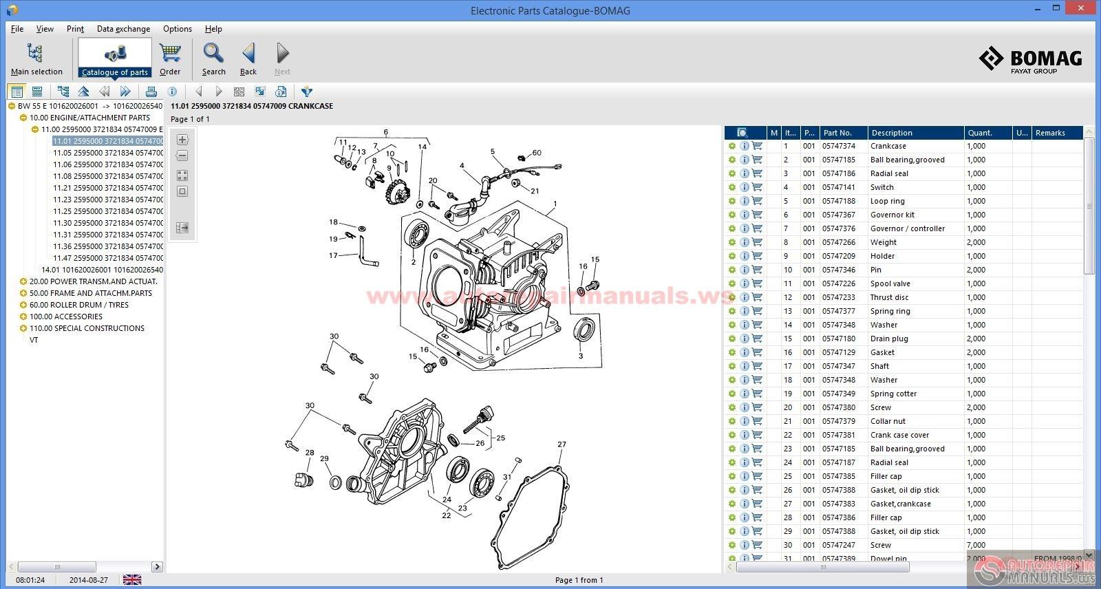Bomag Electronic Parts Catalogue EPC 2013 Auto Repair