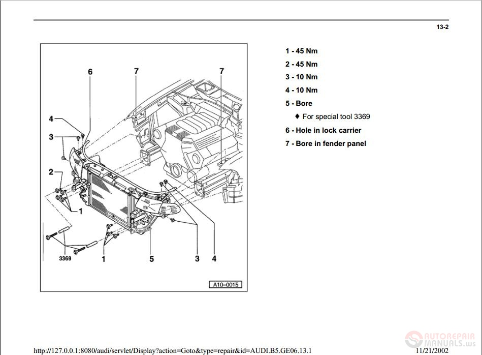 Haynes Service Manuals Audi A on 2001 Audi A6 Engine Diagram