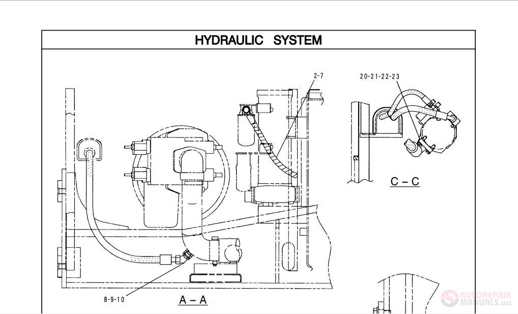cat 345b  345bl track-type excavators parts manual