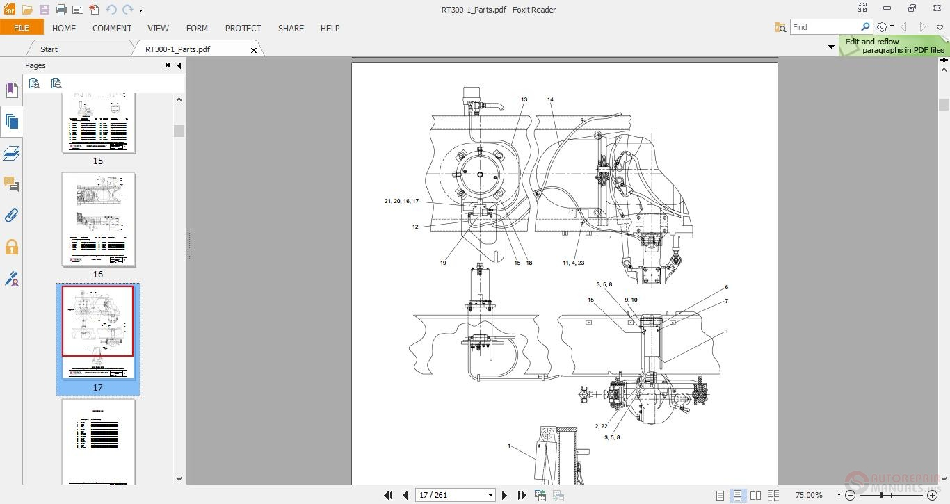 Terex Cranes Rt300 1 Rt345xl Parts Manual on toyota wiring diagram
