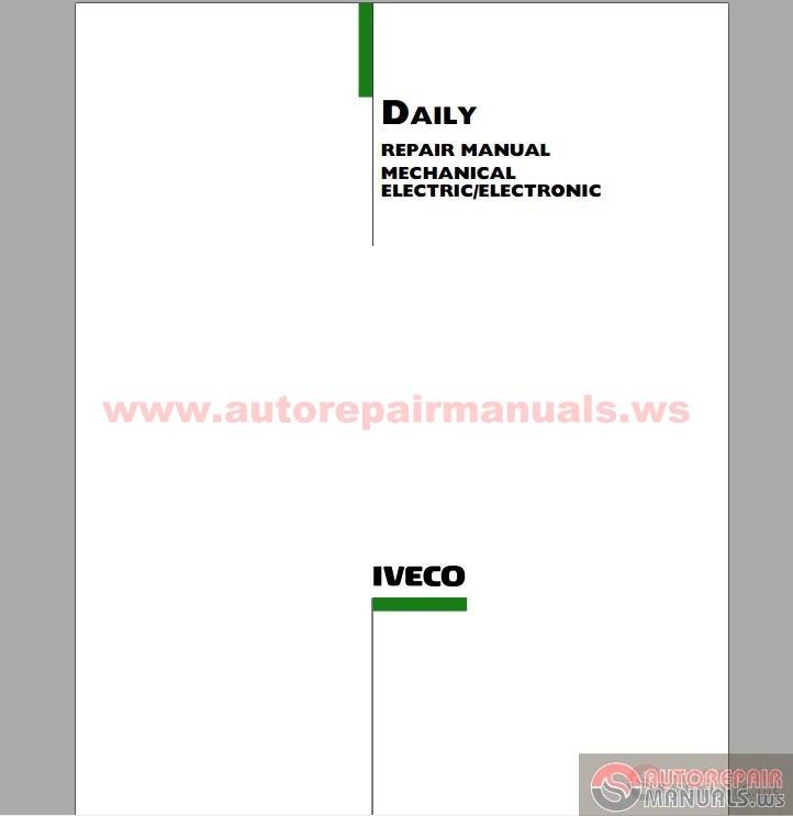 keygen autorepairmanuals ws  iveco - daily