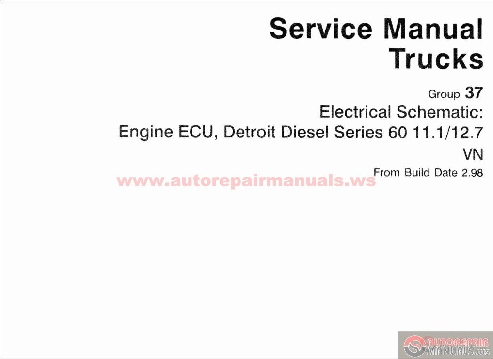Volvo_Electrical_Schematic_98 99_year2 volvo electrical schematic 98 99 year auto repair manual forum volvo vn wiring schematic at gsmportal.co