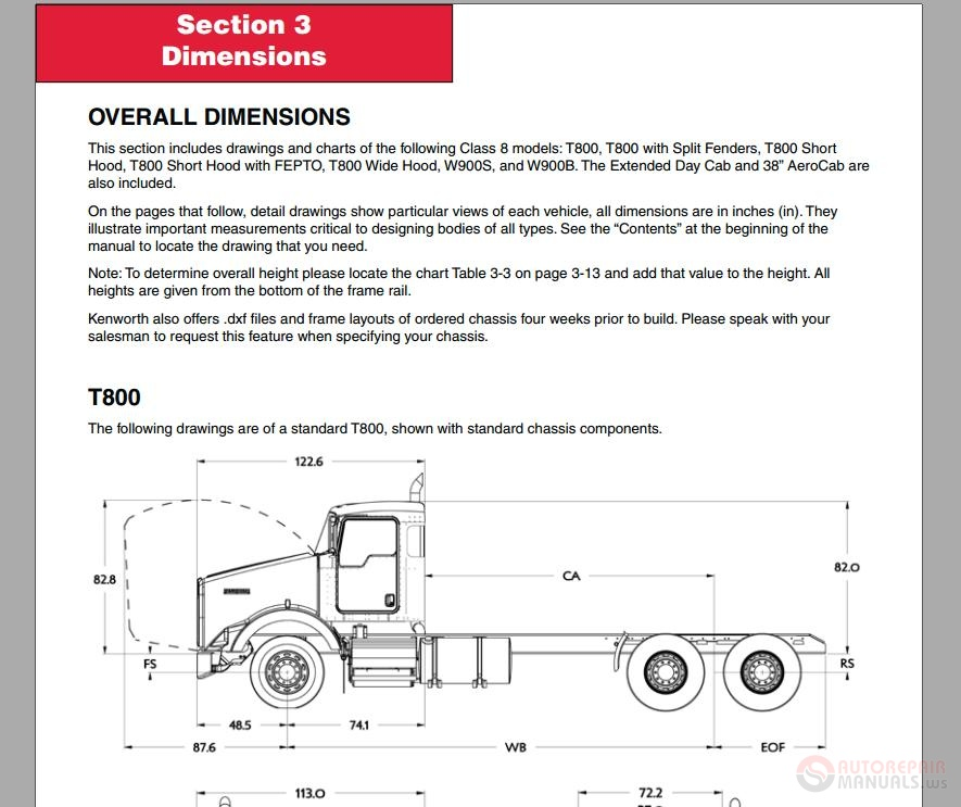 kenworth t wiring schematic images further kenworth kenworth heavy duty bodybuilder manual auto repair manual forum