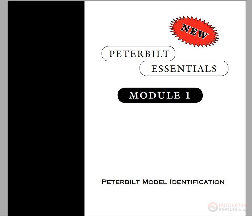 Peterbilt - Essentials Module 01