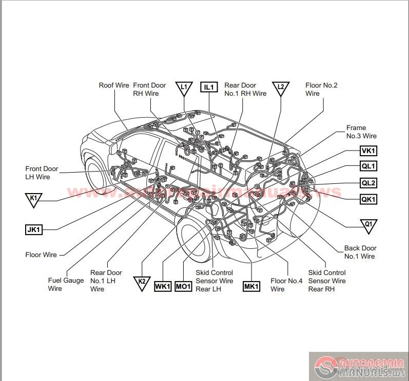 toyota rav4 2007 electrical wiring diagram | auto repair ... 2007 toyota rav4 engine diagram