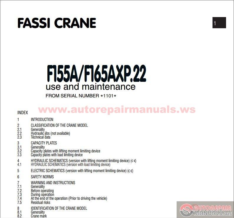 Cosal Use And Maintenance Manual Pdf