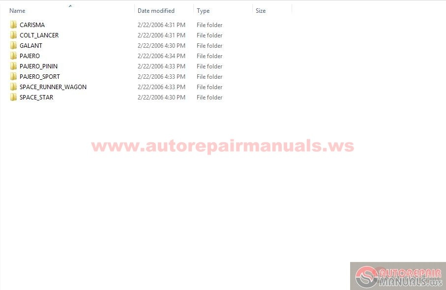 Mitsubishi Chassis And Electrical Wiring Manual