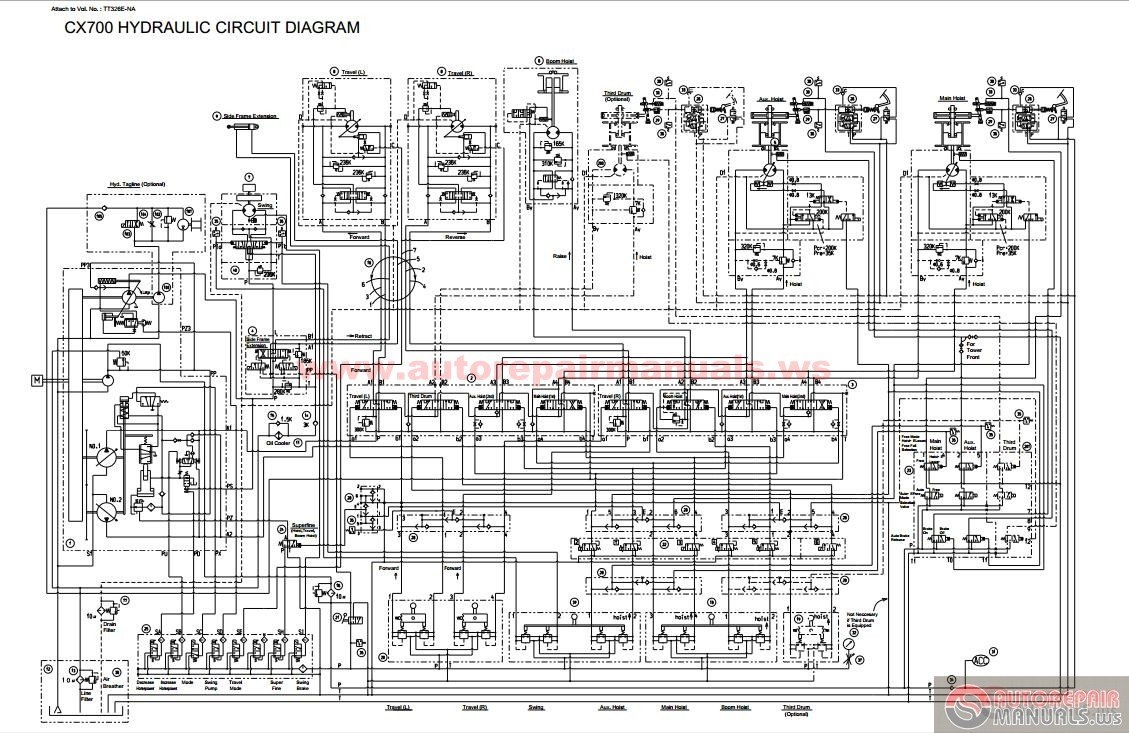 Hitachi Sumitomo Crawler Crane Scx Shop Manual on Isuzu Parts Diagrams