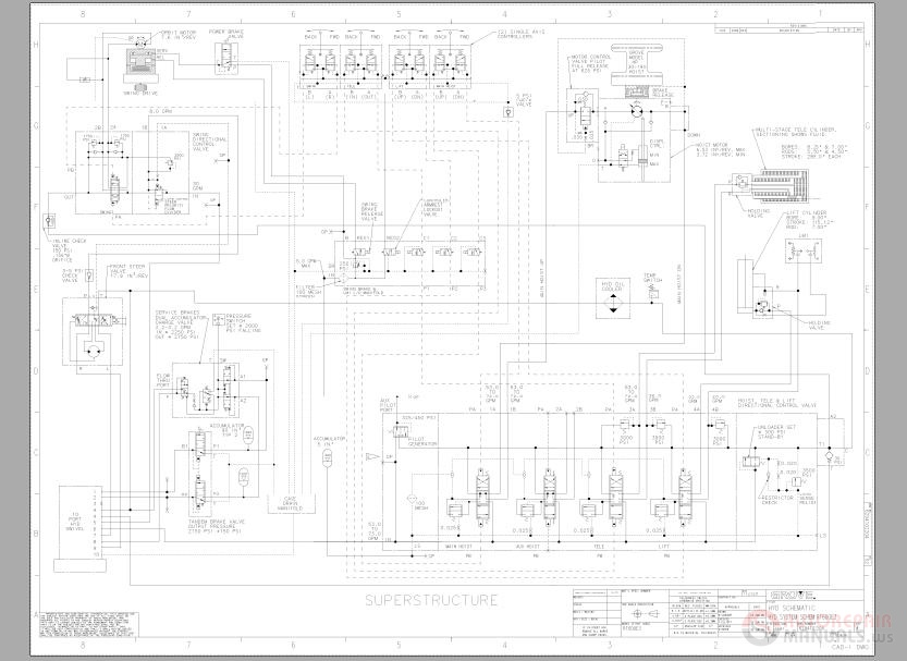 Grove_Crane_RT600E 2_Hydraulic_Schematics grove manlift wiring diagrams terex wiring diagrams wiring diagram Cam Switch Wiring Diagram at mifinder.co