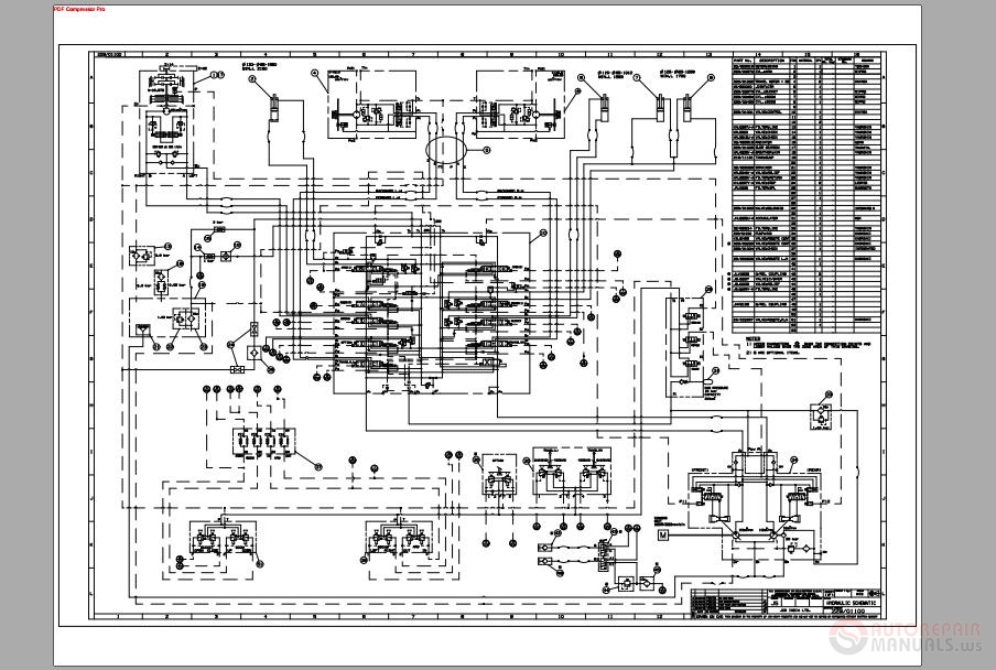 JCB_Hydraulic_Excavator_JS200_Hydraulic_Schematic jcb wiring diagram jcb wiring diagrams instruction jcb wiring diagram at gsmx.co