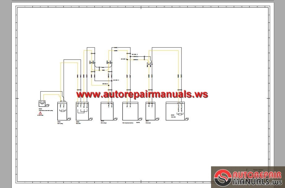 DAF_105_Electrical_Wiring_Diagram3 daf 105 electrical wiring diagram auto repair manual forum daf lf45 abs wiring diagram at gsmportal.co