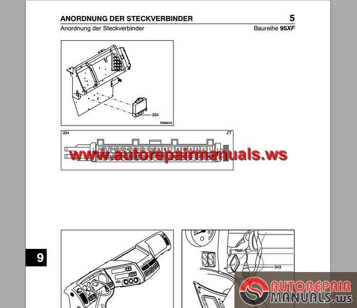 Daf 95xf 2002 Electrical Wiring Diagram