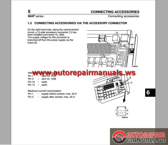 DAF_95_XF_Electrical_Wiring_Diagram2 daf 95 xf electrical wiring diagram auto repair manual forum daf xf 95 wiring diagram at nearapp.co