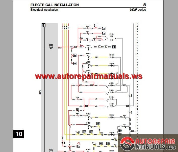 Electrical Wiring Diagram Of Automotive : Daf xf electrical wiring diagram auto repair manual