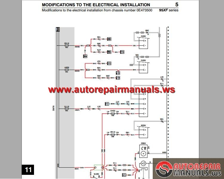DAF_95_XF_Electrical_Wiring_Diagram4 daf 95 xf electrical wiring diagram auto repair manual forum daf cf wiring diagram at edmiracle.co