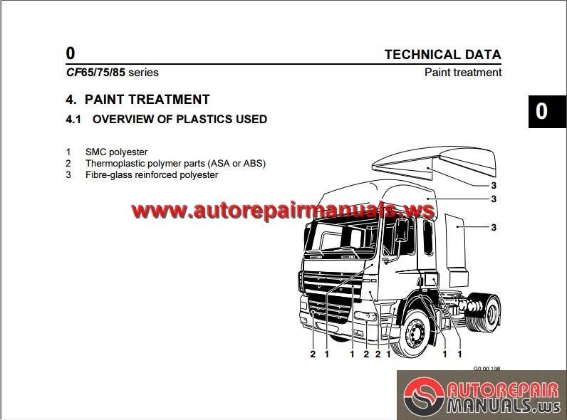 daf cf85 workshop manual free download