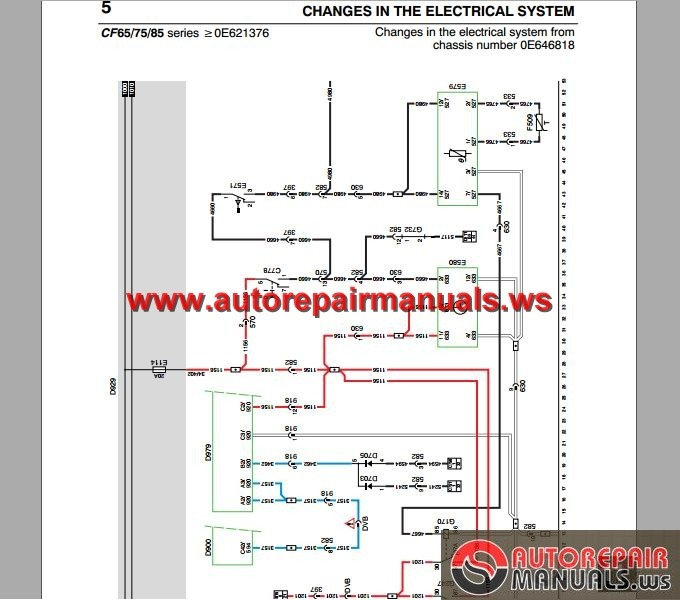 DAF_CF65_CF75_CF85_from_Chassis_0E621376z_Electrical_Wiring_Diagram4 daf cf65, cf75, cf85 (from chassis 0e621376)z electrical wiring daf cf wiring diagram at edmiracle.co