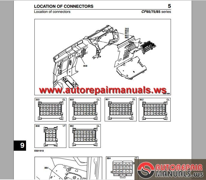 DAF_CF65_CF75_CF85_to_Chassis_0E621376_Electrical_Wiring_Diagram2 daf cf65, cf75, cf85 (to chassis 0e621376) electrical wiring daf cf wiring diagram at edmiracle.co