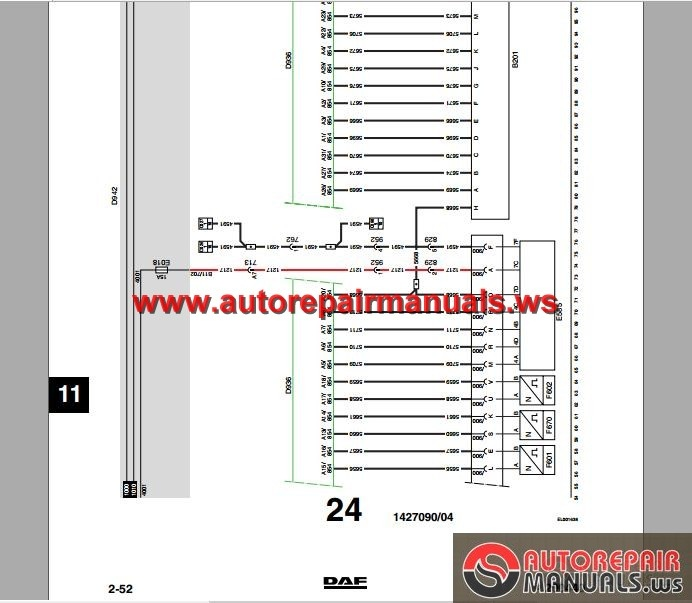 DAF_LF45_LF55_Electrical_Wiring_Diagram4 daf lf45, lf55 electrical wiring diagram auto repair manual daf xf 95 wiring diagram at alyssarenee.co