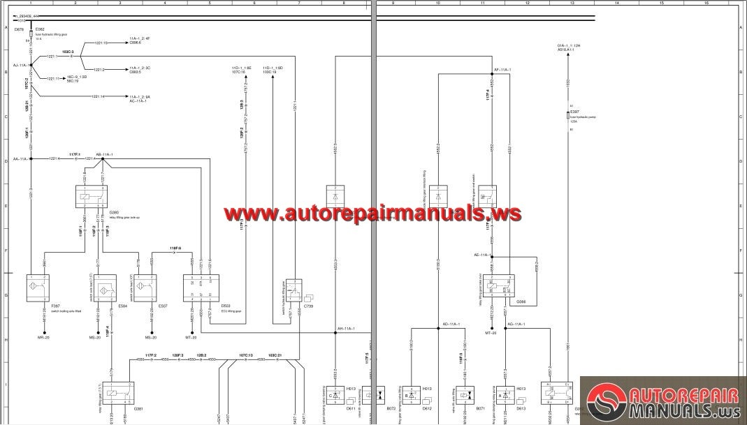 DAF_XF_CF_Euro_4_5_Electrical_Wiring_Diagram3 daf xf cf euro 4, 5 electrical wiring diagram auto repair manual daf lf45 abs wiring diagram at gsmportal.co