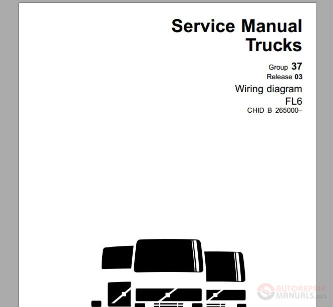 volvo truck fl6 - november 2003 service manual