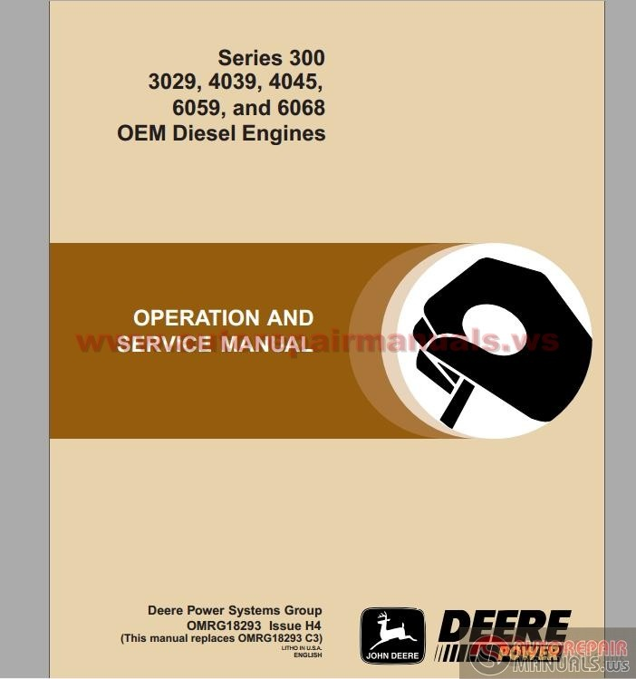 Manuals for Tractors, Engines an Other Machines