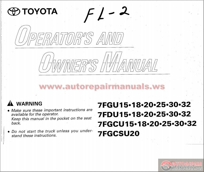 Toyota Forklift 7FGU15, 7FGCSU20 Series Operators and Owners ... on nissan forklift engine diagram, forklift brake diagram, forklift controls diagram, liebherr wiring diagram, toyota forklift parts catalog, toyota forklift ignition, forklift schematic diagram, toyota forklift distributor, skytrak wiring diagram, bomag wiring diagram, toyota forklift heater, toyota forklift assembly, ingersoll rand wiring diagram, hyster wiring diagram, jungheinrich wiring diagram, clark wiring diagram, challenger wiring diagram, toyota forklift distribuator wiring, toyota forklift serial number, nissan wiring diagram,