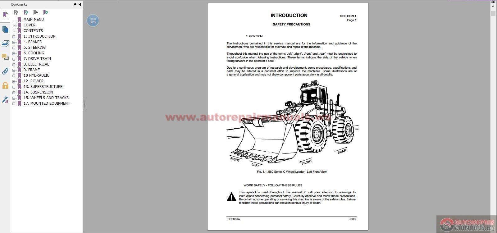 Komatsu wheel loaders all shop manual auto repair manual forum img sciox Gallery