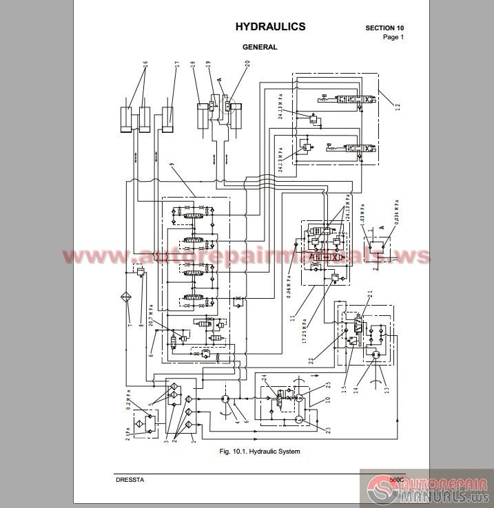 komatsu wiring diagram schematic in addition d20p dozer