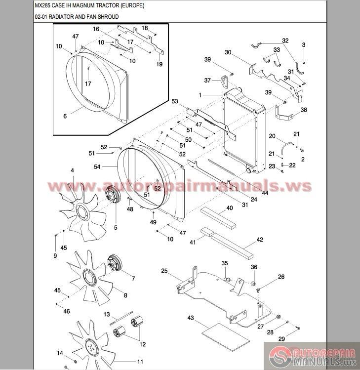 Tractor Parts Catalogues : Case ih tractor mx magnum parts catalog auto repair
