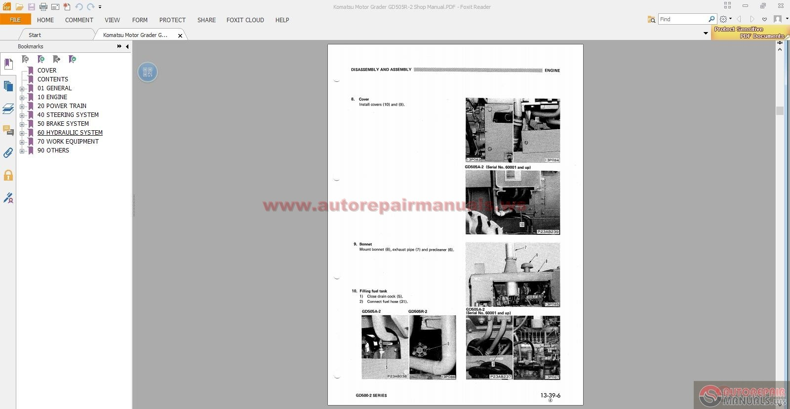 komatsu motorgraders workshop manuals auto repair manual. Black Bedroom Furniture Sets. Home Design Ideas