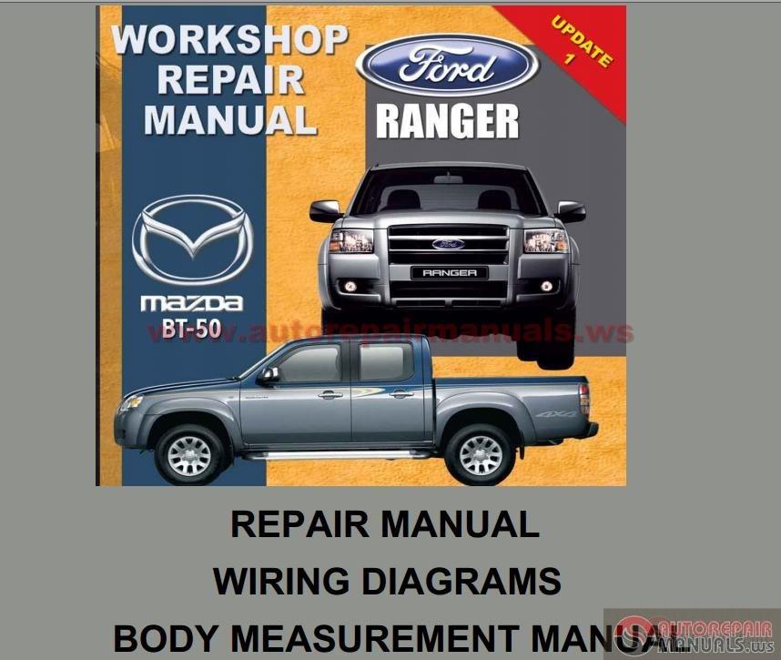 Mazda 626 Wiring Diagram Service Manual : Mazda bt workshop repair manual auto