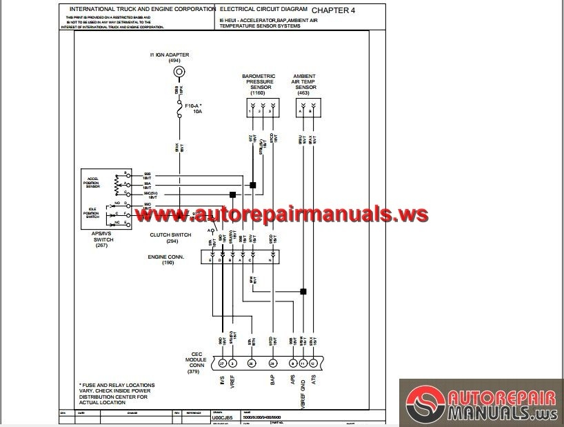 international truck electrical diagrams wiring diagram post 9200I International Truck Wiring Diagram