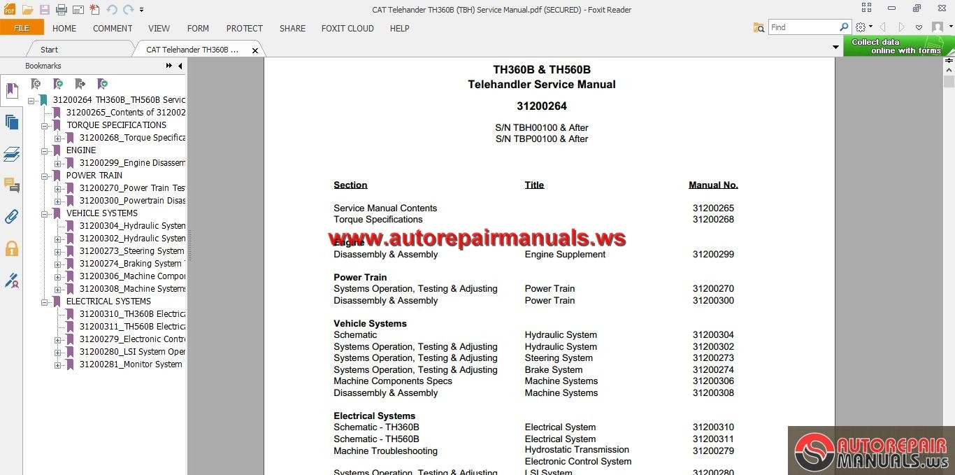 manual th360b
