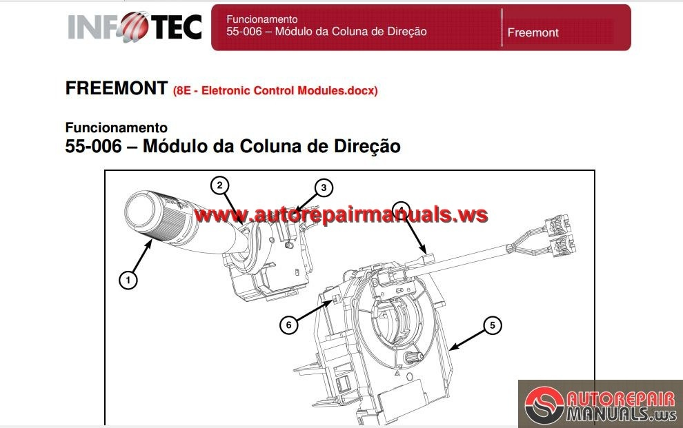 service manual fiat freemont 2012  full