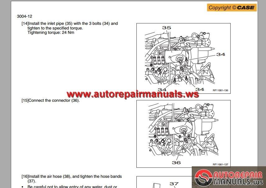 Cx210b -cx 230 B- Cx240b Service Manual