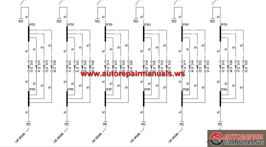 Terex Ac55 1 Ac55l Electric Schematic Auto Repair Manual