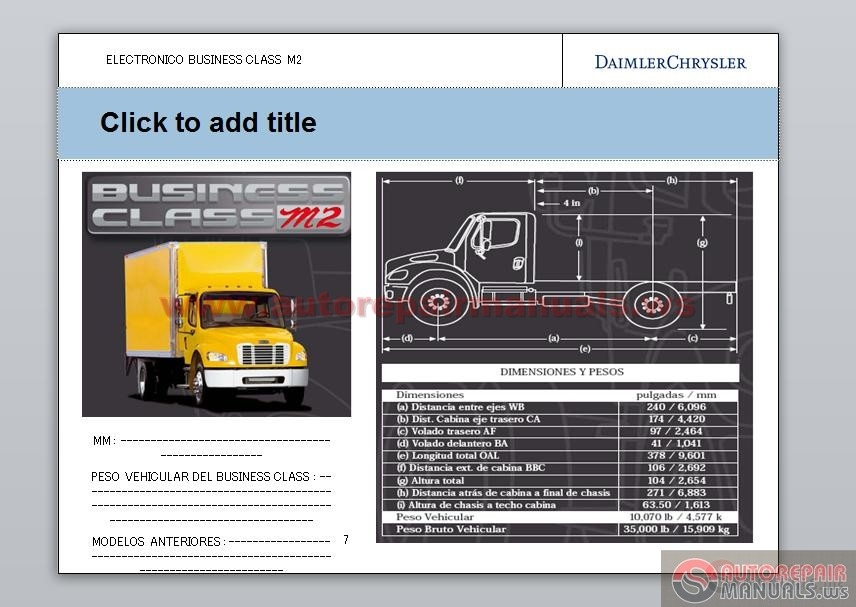 Freightliner M2 Controls And Wiring Diagrams