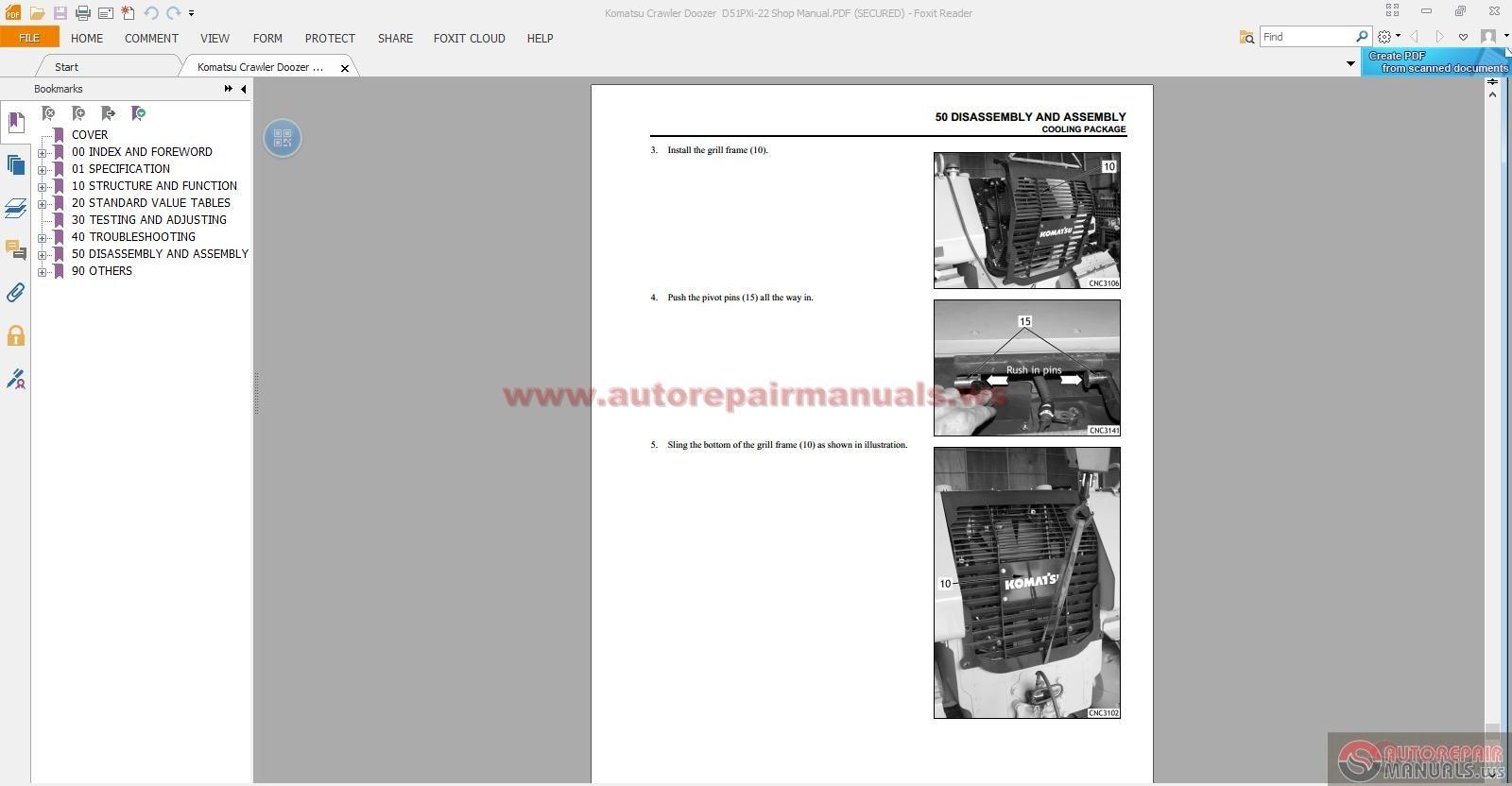 komatsu d65ex 12 service manual