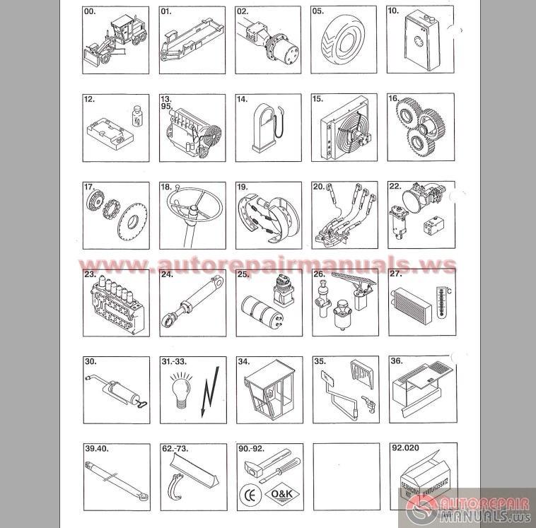 keygen autorepairmanuals ws  o u0026k f156 a motorgrader operation manual  german    parts catalog