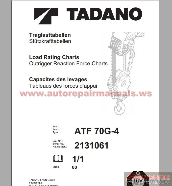 tadano faun atf 70g 4 load rating charts auto repair manual forum heavy equipment forums tadano truck crane manual tadano 50 ton crane manual