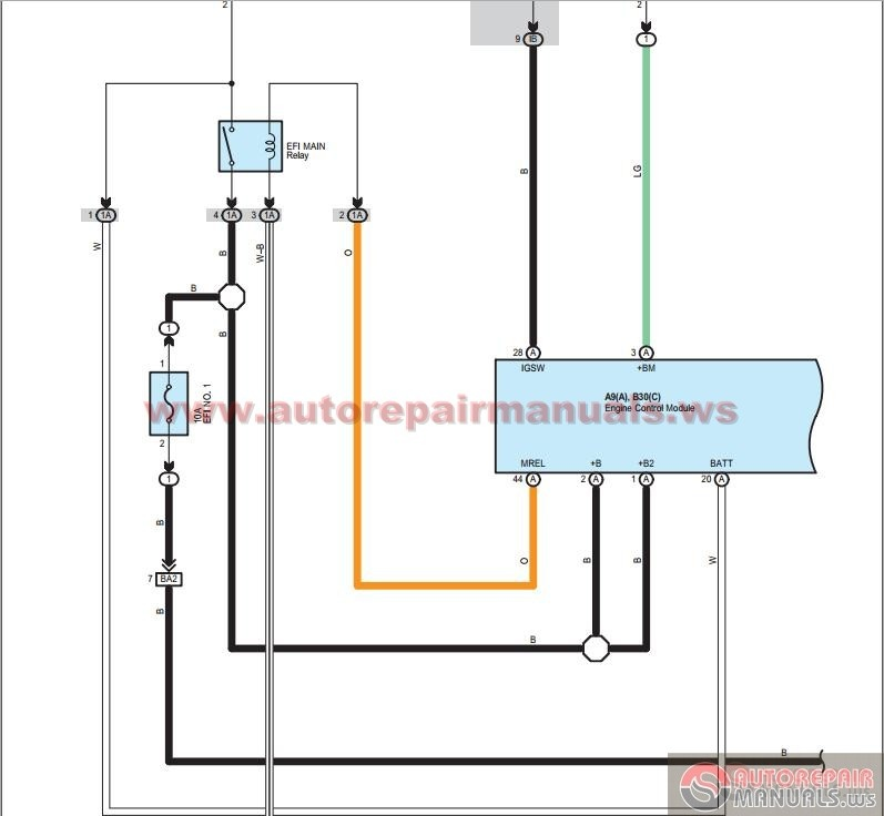 Toyota Rav4 2008 Electrical Wiring Diagrams Ewd