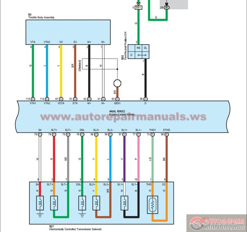Toyota RAV4 2008 Electrical Wiring Diagrams EWD | Auto ...