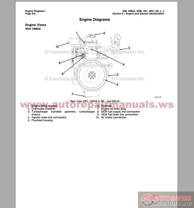 cummins isc electronic wiring diagram wiring diagram for you • cummins cm850 troubleshooting and repair manual auto cummins isx ecm wiring diagram 2001 freightliner motorhome wiring