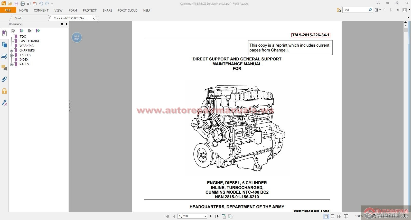Cummins Nt855 Bcii Service Manual on onan generator wiring diagram