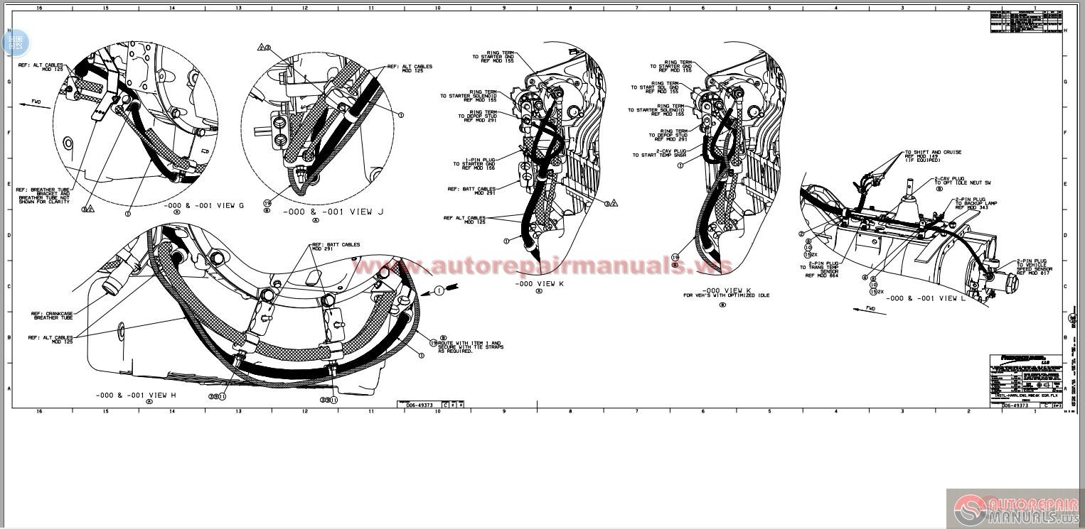 Freightliner Columbia Mb V48542 Service Manual