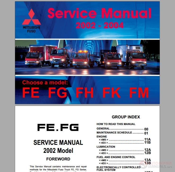 Keygen Autorepairmanuals Ws  Mitsubishi Fuso 2002-2004 Service Manuals
