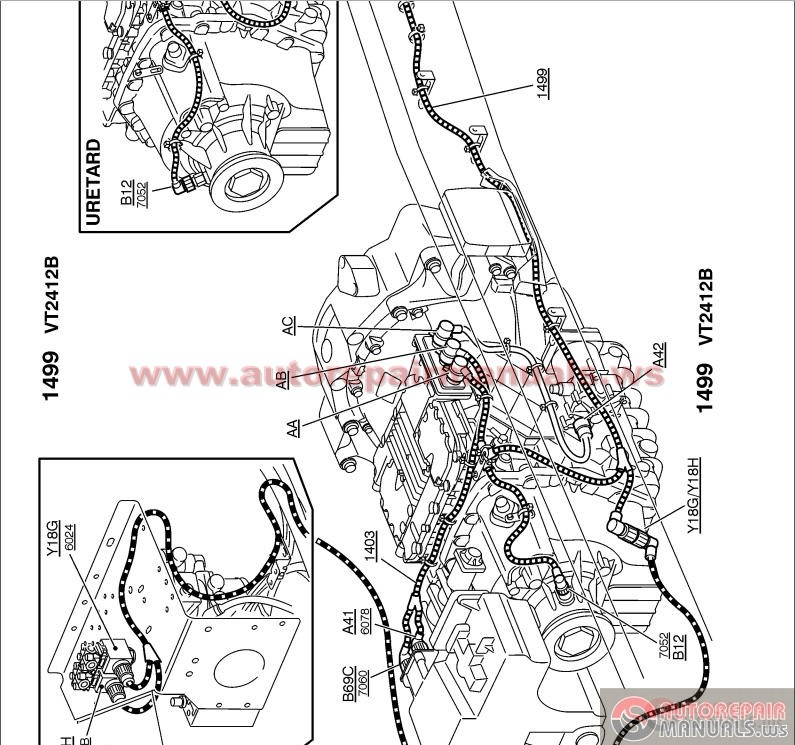 Volvo Truck Service Manual All on workshop electrical wiring