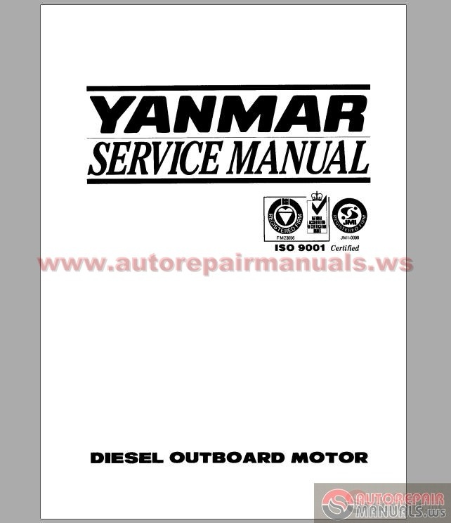 free download program yanmar marine engine manual