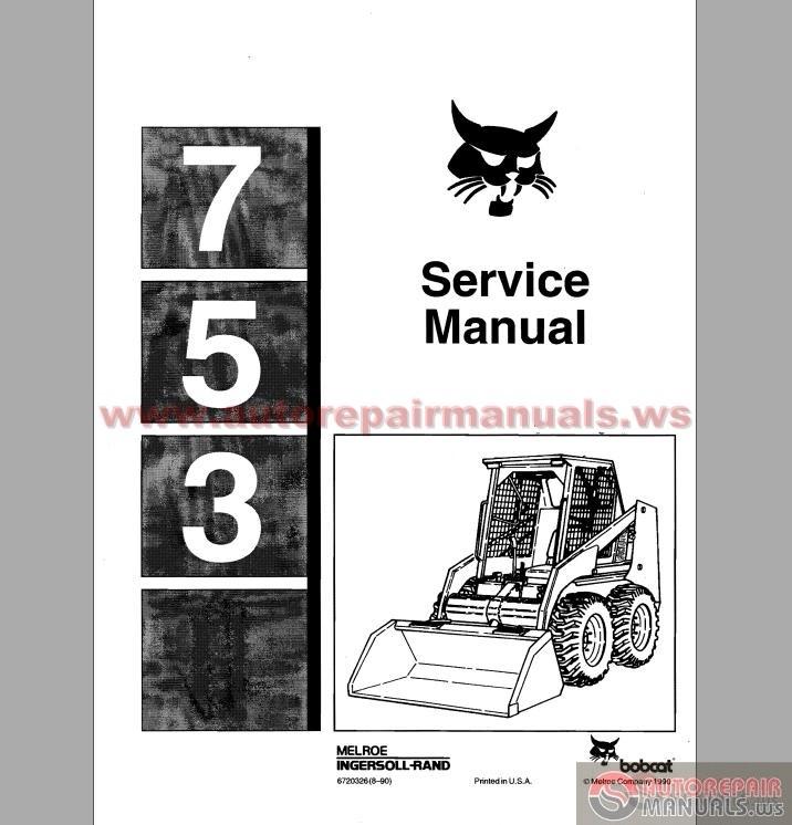 bobcat 753 service manual auto repair manual forum heavy bobcat 753 service manual size 29 3mb language english type pdf pages 404